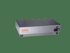 Chapa aquecedora vitrocerâmica digital JUNG CV210AP